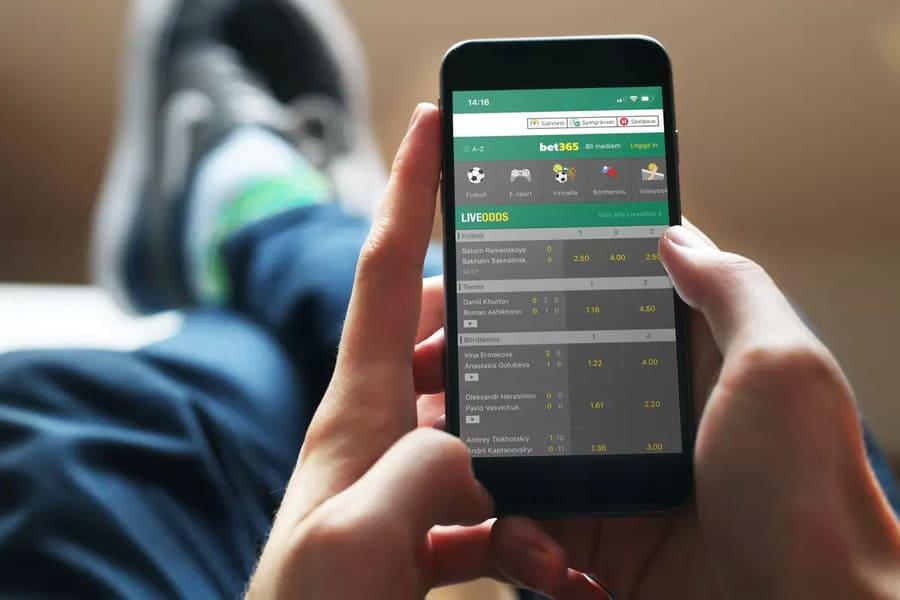 Betting i mobilen